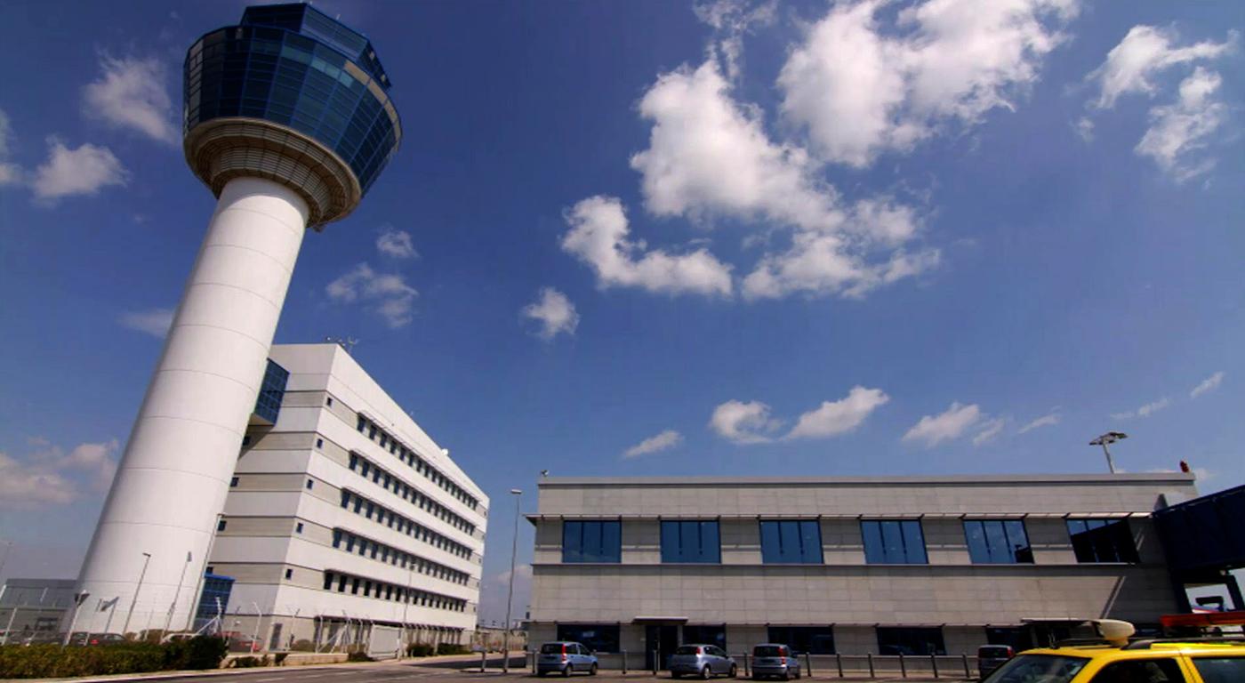 Φωτογραφία από τον Διεθνή Αερολιμένα Αθηνών