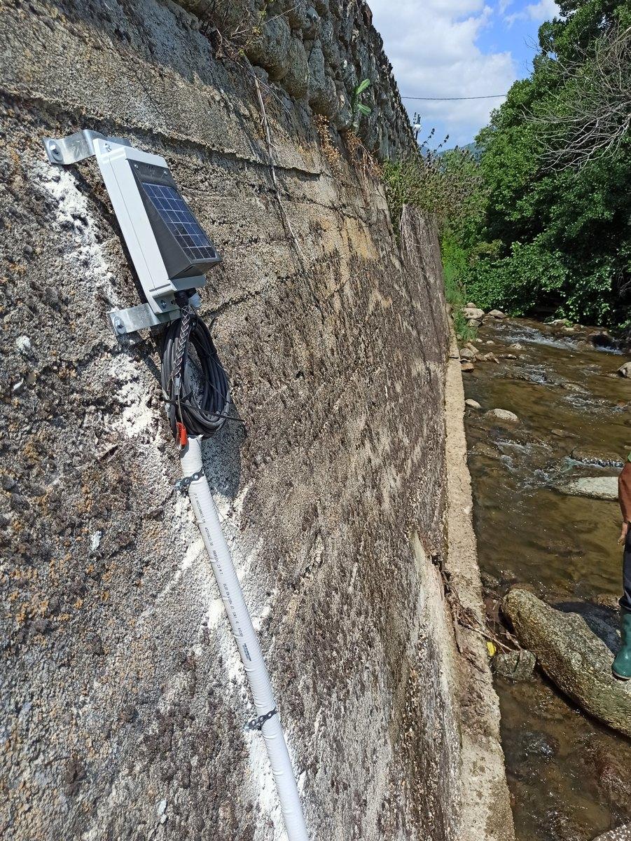 Ο σταθμός μέτρησης υδατικών παραμέτρων στον Άγιο Γερμανό